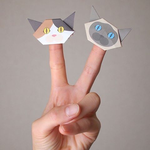 "The minis are perfect for finger puppets!Take them wherever you go!指人形で猫劇場ができちゃう!小さいからどこにでも連れて行ってくださいね♪🐈 ️Check out ""Catchy-boutique"" in our URL#折り紙 #originalproduct #paperart#origamicat #papercat #paperfolding#catchyboutique #shopify#cat #neko#catsofinstagram #origami#cat2see#catlovers#cat_features#catworldwide#excellent_cats#catstagram#nyanstagram#lovemeow#ig_catclub#World_kawaii_cat#instacat_meows#TopCatPhoto#igbest_cats#cutepetclub#igcutest_animals#topcatoftheday#cats_of_world"