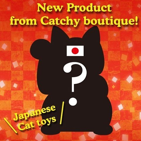 """New Catchy Original Item is coming on 8/22!!The Catchy team's goal, creating an item that makes both human and cat happy, has driven us to this new item!It's coming to say Hello to the world soon!:ついにCatchyオリジナル新商品が登場!「人も猫も笑って楽しめる、みんなを幸せにする商品にしたい!」そんなスタッフの想いが形になりました。8/22発売!乞うご期待:☞Check out """"Catchy-boutique"""" in our URL☞Follow: @catchyboutique☞tag: #catchy222 toshare your photo with catchy goods:#cat #neko #ねこ #ネコ#cattoy #cattoys"""